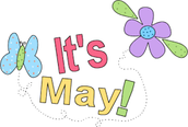 Unbelievably, it's May!