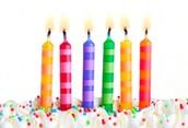 Happy Birthday To....