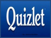 Technology Tool: Quizlet