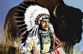 Teton Sioux Tribe's Chief.