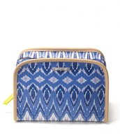 Beauty Bag Indigo Ikat Sale $20 Reg. $36 ***SOLD***