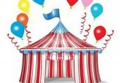 Carnival starts at 12!  Concert starts at 6!