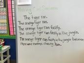 Making Cool Sentences