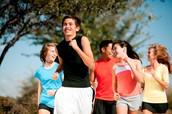 Courez avec vos amis!