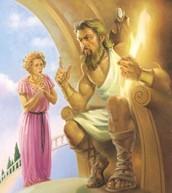 Zeus intervenes.