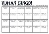 Human Bingo
