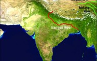 Map of The Ganges