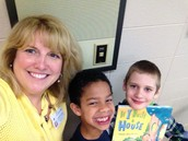Book & Breakfast with 1st Graders