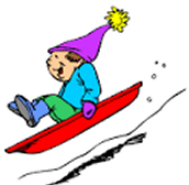 Sledding starts next Tuesday (February 16th)!