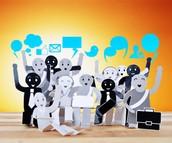 Active & Passive Social Media