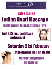 QUALIFY NOW AS AN INDIAN HEAD MASSAGE PRACTITIONER
