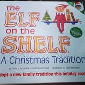 """""""The Elf on the Shelf"""" story book"""