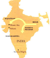 Spread of jainism