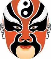 Peking opera mask