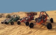 A great place to host races riding a dune buggy