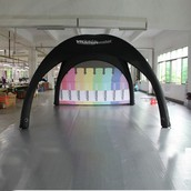 SQUARE INFLATABLE TENT FOR EVENTS