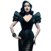 Dita Von Teese's 3D printed dress