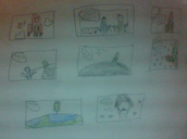 Comic Strip ( Journey To Space)