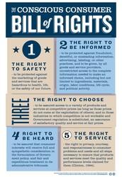 Consumer Bill of Rights!