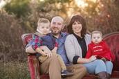 Becky Richard's Family