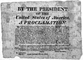 Proclamation to Congress: 1812