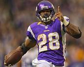 AP/Adrain Peterson is rumbling bumbling stumbling all season long