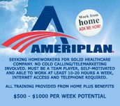 Save on Medical benefits and earn extra income! Be your OWN boss!