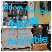 Booth Rentals are now available!