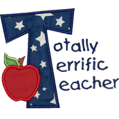Congrats to last week's TOTALLY TERRIFIC TEACHER!