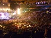 A concert at The Garden