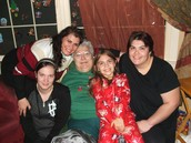 Me, my nieces Lauren and Christina, my Mom and my sister.