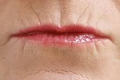 Old Women Lips
