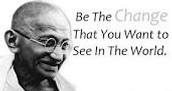 Ending of Gandhi's amazing life