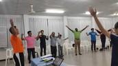 Church leaders training!