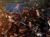 Battle of San Jacinto Painting