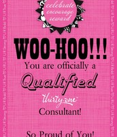 Qualified Consultants (Sold first $1000 PV)