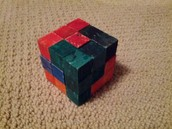 The Entire Puzzle Cube!