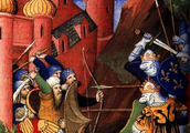 The Crusades: battles between the Christains of Euorpe and the Muslims of the Middle East over the HOLY LAND