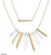 Rebel Cluster Necklace in Gold