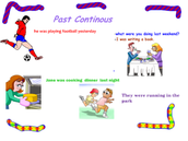 Read All About Past Progressive Tense
