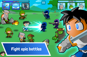 Fight epic battles