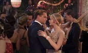 Daisy and Gatsby on the dance floor