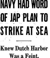 Battle of midway newspaper