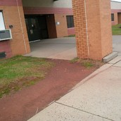 "Front of School - ""Before"""