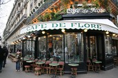 A cafe in Paris