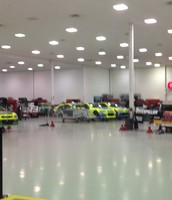Cars on the Floor at RCR