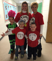 Dress like your favorite Dr. Seuss character!