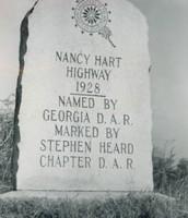 Nancy Hart Highway. Established 1928.