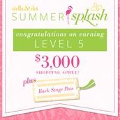 Level 5!  $3000 Shopping Spree!!
