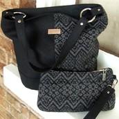 Bonnie Bucket Bag & matching wristlet
